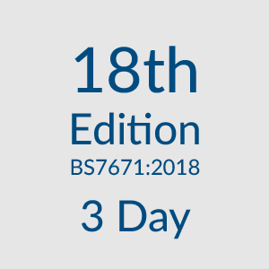 18th edition 3 day course